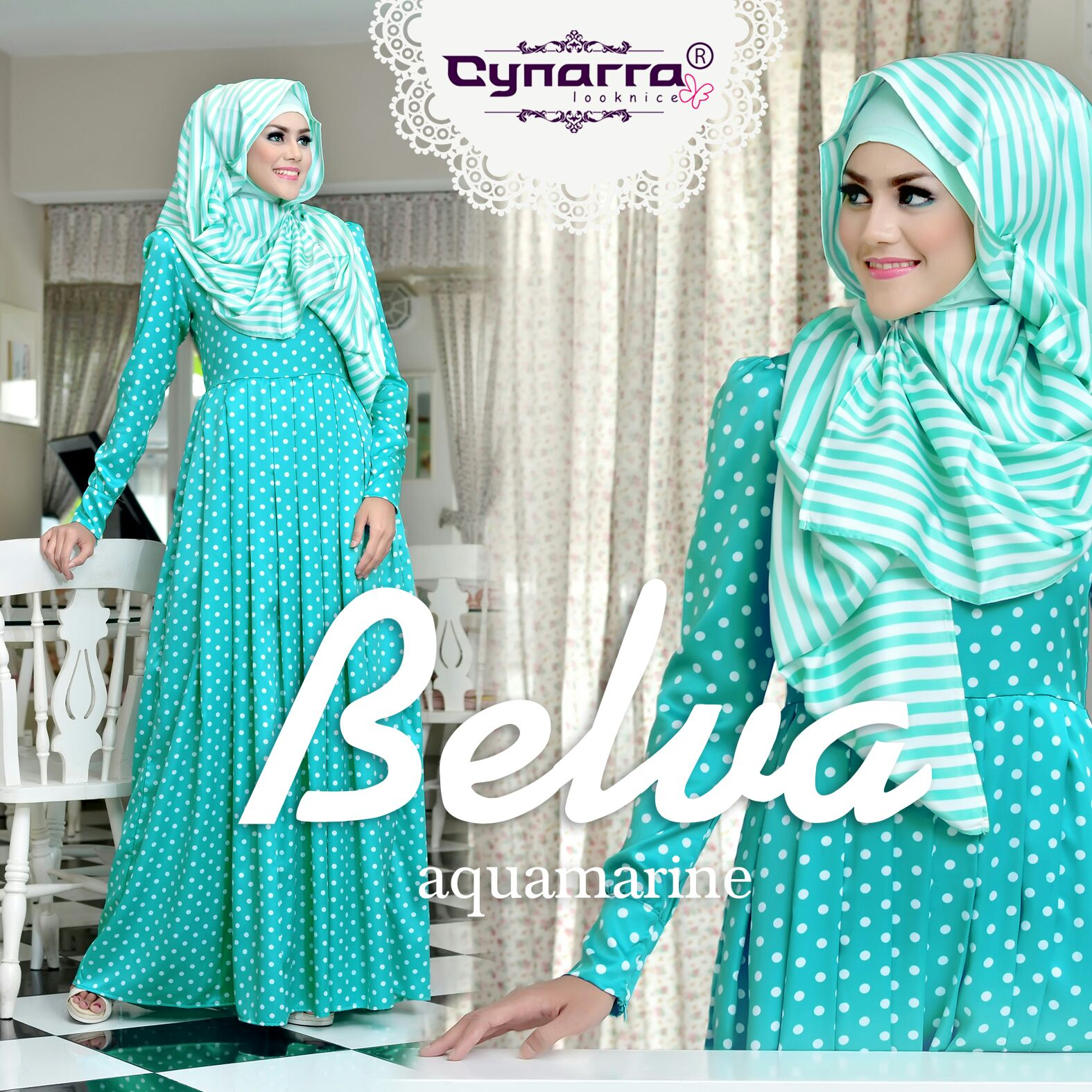 Amazing Hijab Alila Instagram By Vidia O'shop: Belva By Cynarra Looknice
